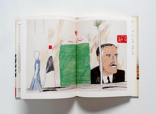 David Hockney: EGYPTIAN JOURNEYS
