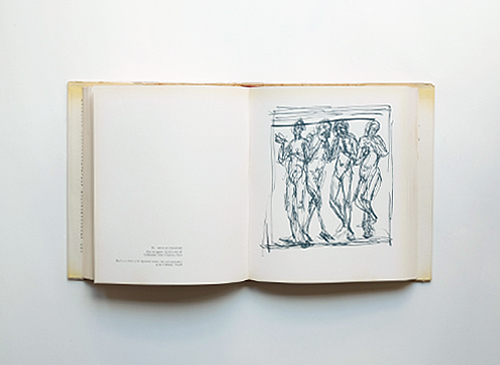 Giacometti: A Sketchbook of Interpretive Drawings