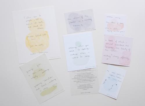 Letters from Johanna Tagada