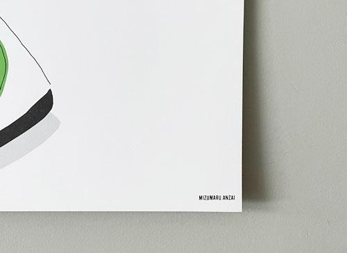 安西水丸 INTERIOR ポスター各種