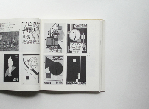 Bauhaus. Drucksachen, Typografie, Reklame