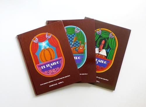 EL CINE / EL TEATRO 各3冊セット