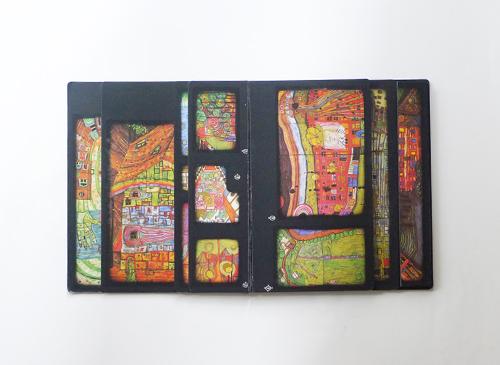 Hundertwasser - Kaurinui Ao Tea Roa