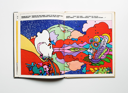 Peter Max: The Land of Blue