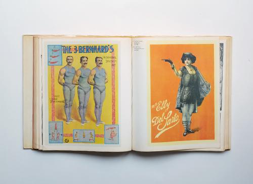 Les affiches du cirque