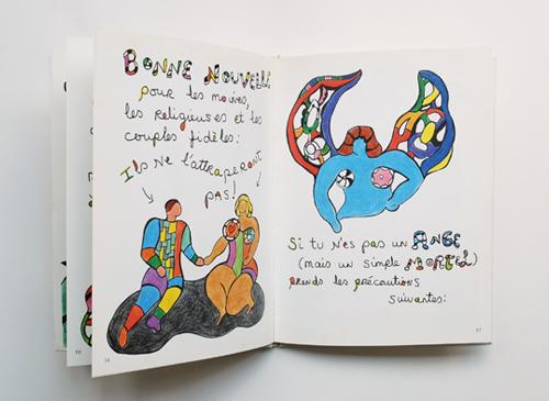 Niki de Saint Phalle: Le Sida, c'est facile a eviter