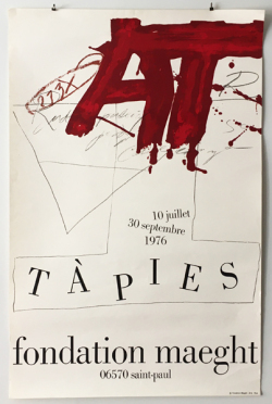 Antoni Tapies ポスター 各種