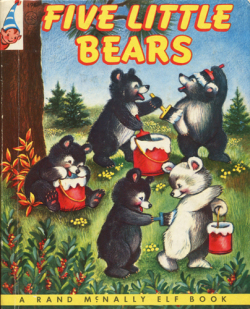a rand mcnally book five little bears
