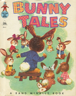a rand mcnally book bunny tales