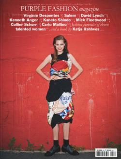 purple fashion magazine fall winter 1112