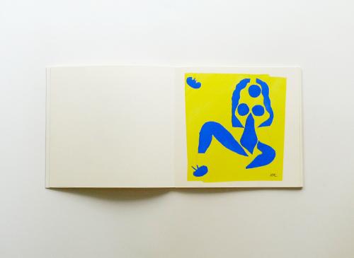 Cahiers et Couleurs - Henri Matisse - Les Nus bleus II