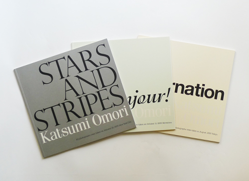 Katsumi Omori: STARS AND STRIPES, Bonjour!,  incarnation 3冊セット