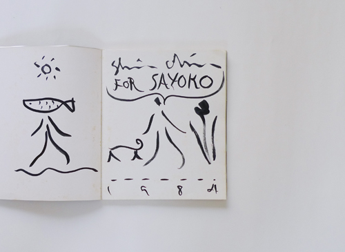 SHINRO OHTAKE 1983-1984[signed with drawing]