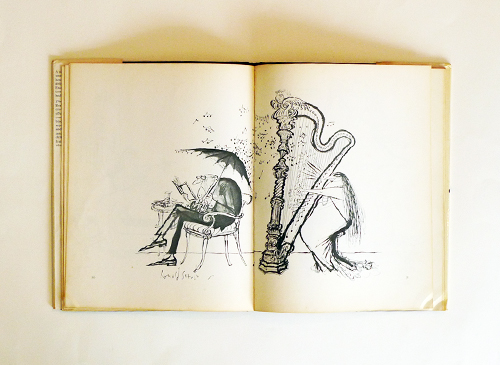 Ronald Searle: the square egg