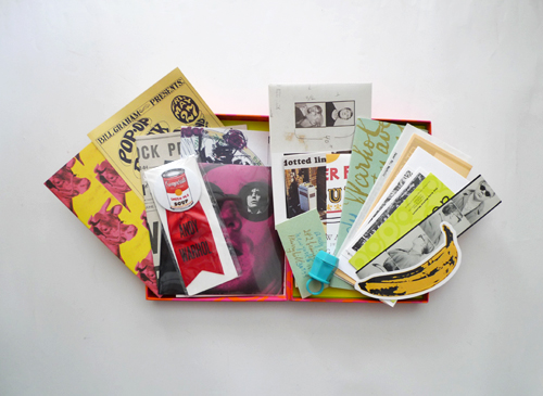 Andy Warhol: pop box